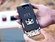 AirSelfie modellazione per prototipi – studio packaging e marchio