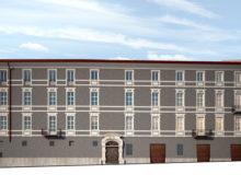 Rendering esterni, restauro facciata palazzo storico