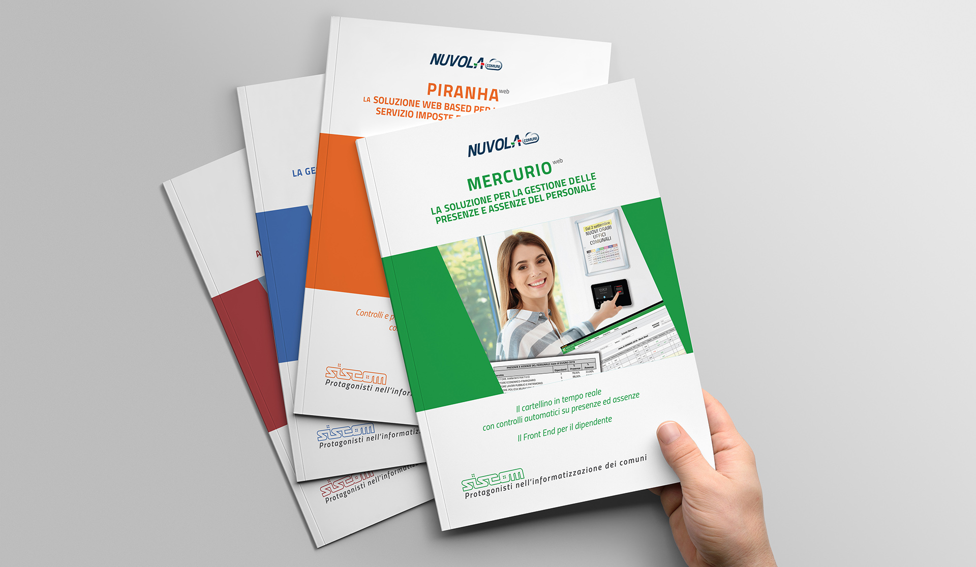 porgettazione brochure cataloghi
