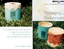 Packaging per il Castelmagno